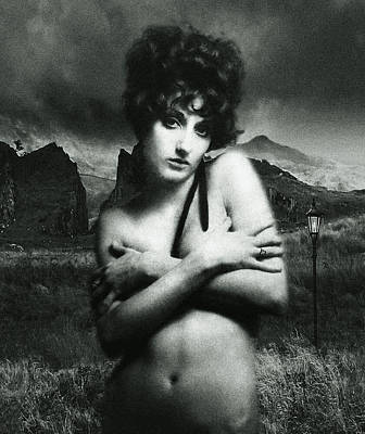 Poster featuring the photograph Rhyd Ddu Madonna by Richard Wiggins
