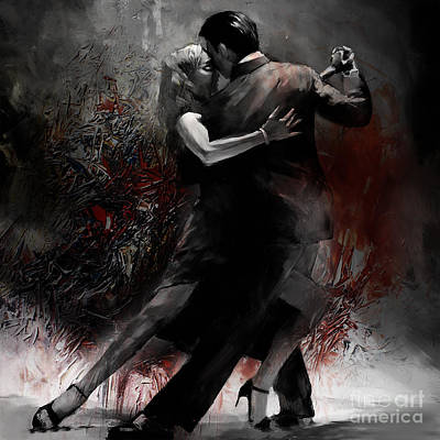 Rhythm Of Tango Poster by Gull G