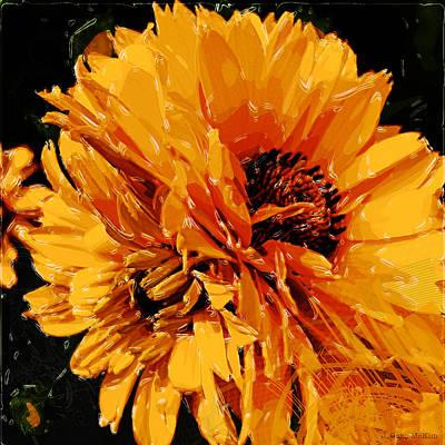 Rhythmic Petals Poster by Jo-Anne Gazo-McKim