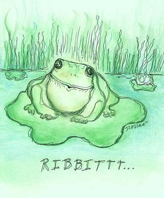 Ribbittt.... Poster