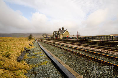 Ribblehead Station Poster by Nichola Denny