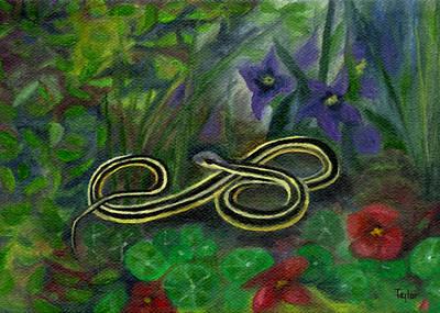 Ribbon Snake Poster