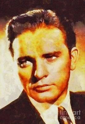 Richard Burton, Vintage Actor Poster