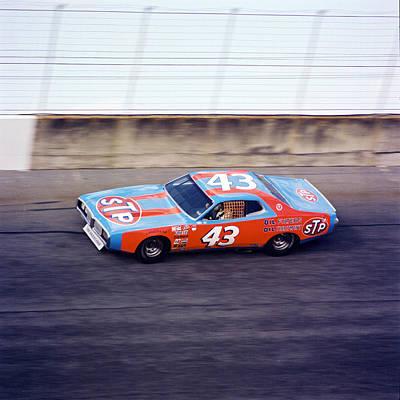 Richard Petty 1977 Daytona 500 Poster by David Bryant