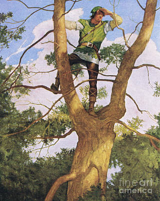 Richard Shelton Poster by Newell Convers Wyeth