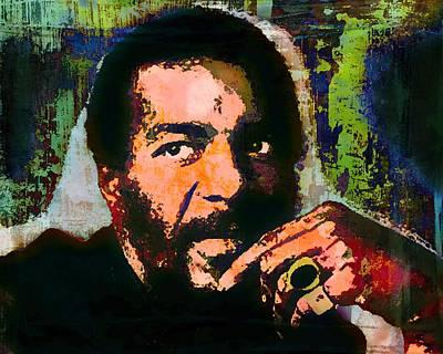 Richie Havens Poster by Otis Porritt