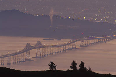 Richmond - San Rafael Bridge Poster by Soli Deo Gloria Wilderness And Wildlife Photography
