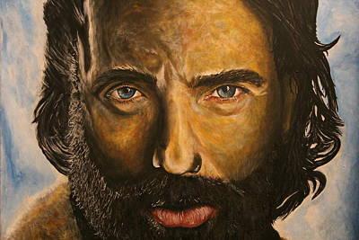 Rick Grimes Portrait Poster