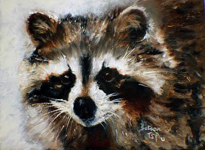 Rickey Raccoon Poster