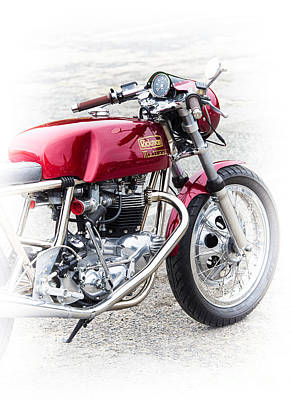 Rickman Metisse Motorcycle  Poster by Tim Gainey