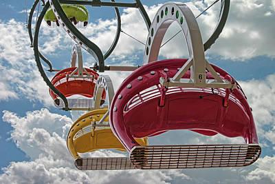 Ride Against The Sky Poster by John Haldane
