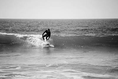 Ride The Surf Poster by Bransen Devey