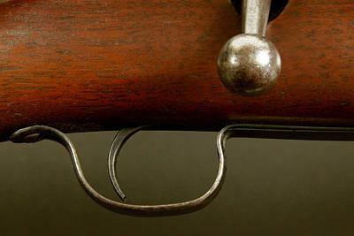 Rifle Study Poster by Kitty Ellis