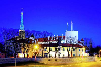 Poster featuring the photograph Riga Castle by Fabrizio Troiani