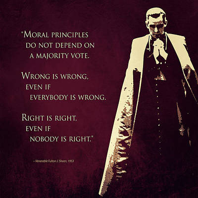 Right And Wrong Poster by Andy Schmalen