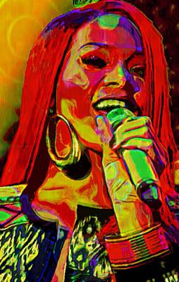 Rihanna 2 Poster by  Fli Art