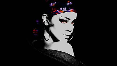 Rihanna On Point Poster