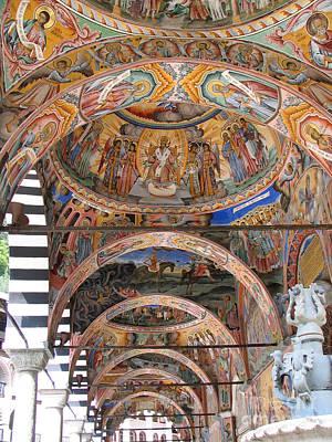 Rila Monastery In Bulgaria Poster
