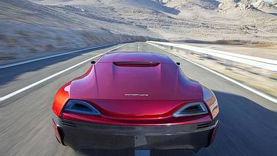 Rimac Concept One Poster