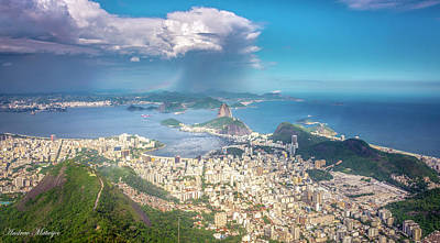 Poster featuring the photograph Rio De Janeiro by Andrew Matwijec