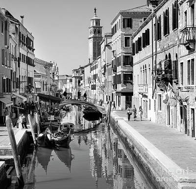 Rio Di San Barnaba Venice Poster by Julie Woodhouse
