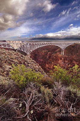 Rio Grande Gorge Bridge Poster by Jill Battaglia