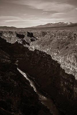 Rio Grande River Taos Poster