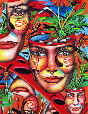 Ripening Of A Lucid Psyche Poster