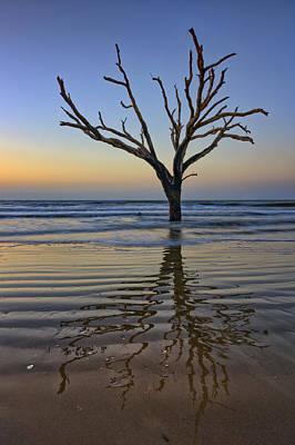 Rippled Reflection - Botany Bay Poster by Rick Berk