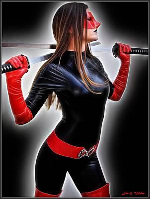 Rise Of The Crimson Avenger Poster