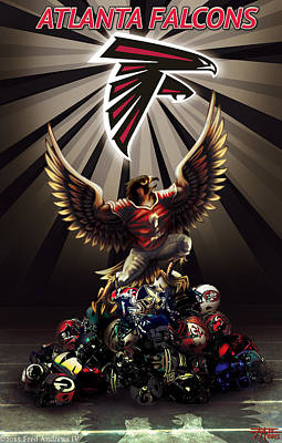Rise Up Poster by Fred Andrews IV