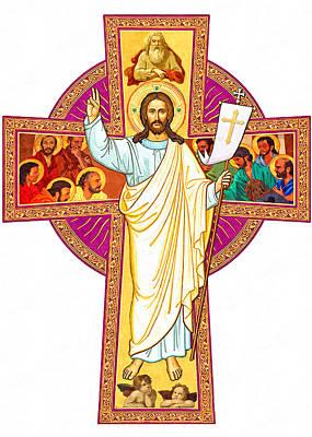 Risen Christ Poster by Munir Alawi
