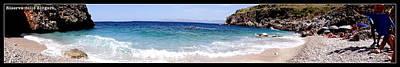 Riserva Dello Zingaro Sicily Panorama Poster by Pablo Masotta