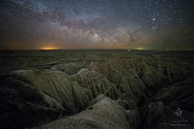 Rising Poster by Aaron J Groen