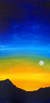 Rising Moon Poster