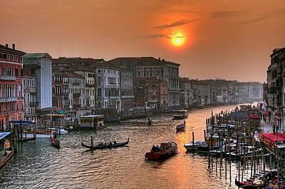 Riva Del Ferro. Venezia Poster by Juan Carlos Ferro Duque