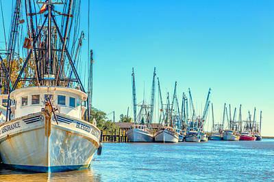 Shrimp Boats 4 Poster