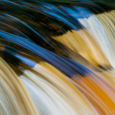 River Colours Poster by Sylvia Slavin