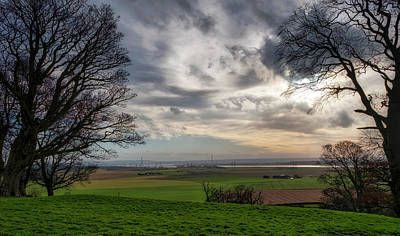 Poster featuring the photograph River Forth View From Clackmannan Tower by Jeremy Lavender Photography