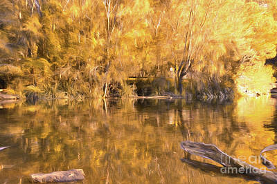 River Of Fire By Kaye Menner Poster