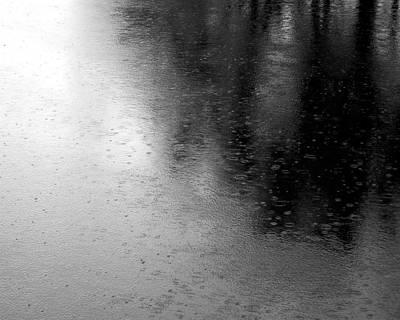 River Rain  Naperville Illinois Poster