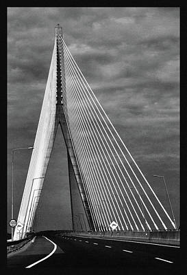 Poster featuring the photograph River Suir Bridge. by Terence Davis