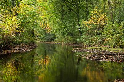 River Teign On Dartmoor Poster