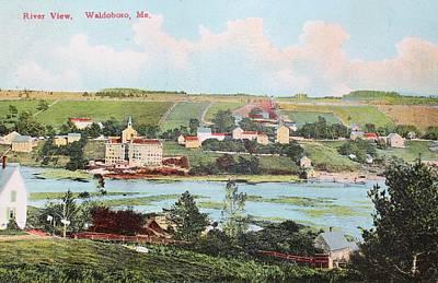 River View Waldoboro Me Poster