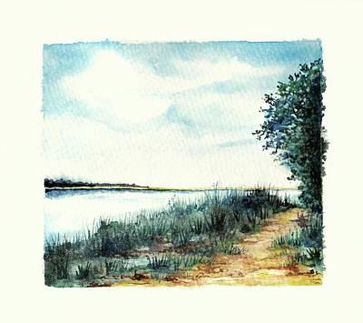 River Walk Poster by Heidi Kriel