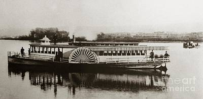 Riverboat  Mayflower Of Plymouth   Susquehanna River Near Wilkes Barre Pennsylvania Late 1800s Poster