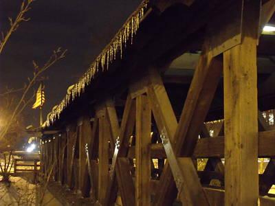 Riverwalk Bridge II Poster