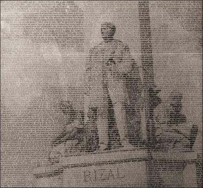 Rizal 1966-67- Full Yashicad Neg Poster by Glenn Bautista
