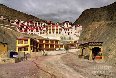 Rizong Monastery Leh Ladakh Jammu And Kashmir India Poster