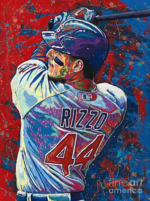Rizzo Swings Poster by Maria Arango